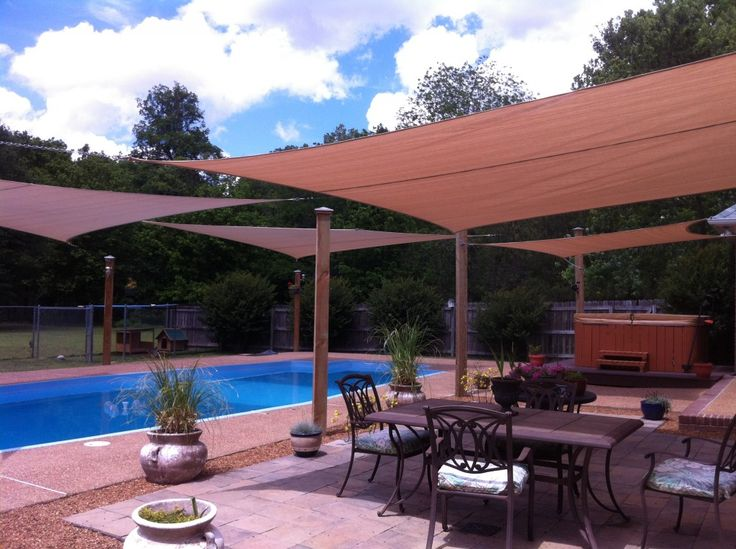 Why Should You Try Shade Sails during Summer Time | Online ... on Shade Sail Backyard Ideas id=83210