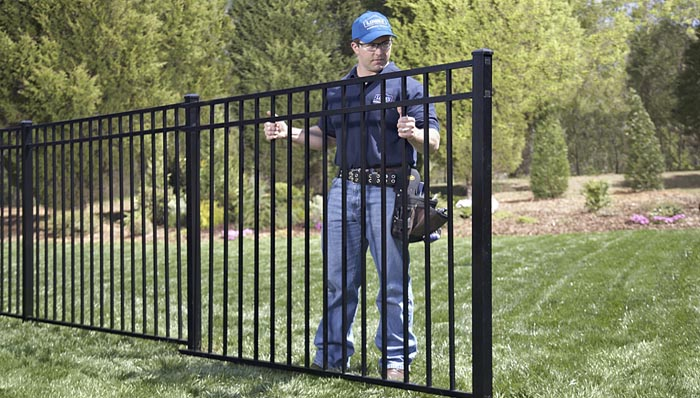 Metal Fencing A Modern Alternative To Timber Online Patio Lawn